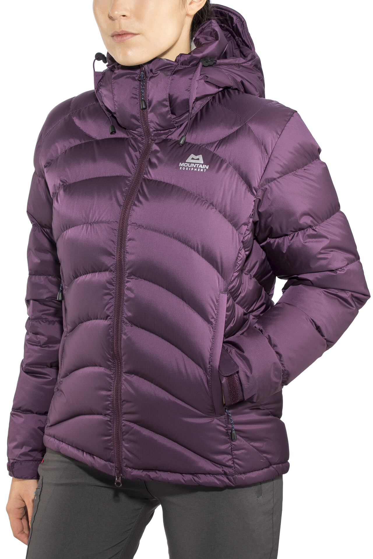 Mountain Equipment Lightline Jacket Damen blackberry